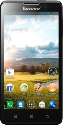 Lenovo P780 Deep Black available at Flipkart for Rs.14750
