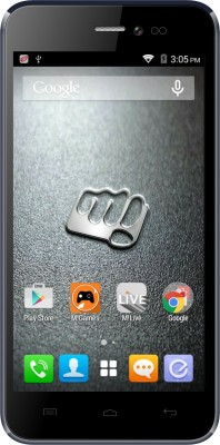 Micromax Canvas Pep (Blue, 8 GB)