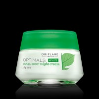 Optimals White Oxygen Boost Night Cream For Oily Skin (50 Ml)