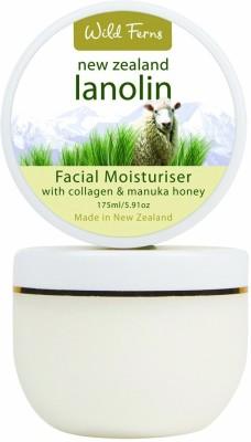 Wild Ferns Moisturizers and Creams Wild Ferns Lanolin Facial Moisturiser with Collagen & Manuka Honey