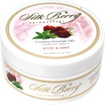 Silk Berry Moisturizers and Creams Silk Berry Rose and Mint Cooling Massage Gel