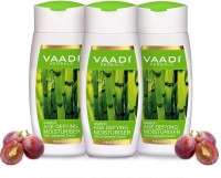 VAADI HERBALS Bamboo Age Defying Moisturiser With Grapeseed Extract Pack Of 3 (110 Ml)