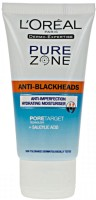 L 'Oreal Paris Pure Zone Ant-Blackheads Hydrating Moisturiser (50 Ml)