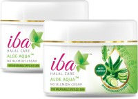 Iba Halal Care Aloe Aqua No Blemish Cream (Pack Of 2) (50 G)