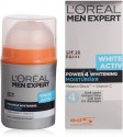 Loreal Paris Men Expert White ActivPower4 Whitening Moisturising SPF 20PA+++ - 50 Ml