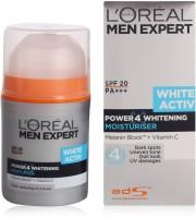 Loreal Paris Men Expert White ActivPower4 Whitening Moisturising SPF 20PA+++