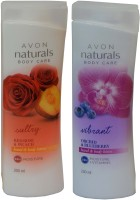 Avon Naturals Body Care Suttury & Vibrant Hand & Body Lotion (Set Of 2 ) (400 Ml)