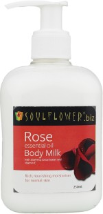 Soulflower Moisturizers and Creams Soulflower Rose Body Milk