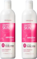Oriflame Sweden Happy Skin Caring Body Lotions Set (800 Ml)