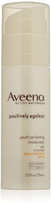 Aveeno Anti Ageing Aveeno Active Naturals Positively Ageless Youth Perfecting Moisturizer, Spf 30, 2.5 Ounce