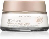Oriflame Sweden OrOptimals EVEN OUT Night Cream (50 Ml)