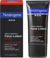 Neutrogena Men Triple Protect Face Lotion With Sunscreen SPF20 (50 Ml)