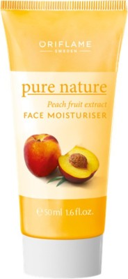 Oriflame Sweden Pure Nature Peach Fruit Extract Face Moisturizer (50 Ml)
