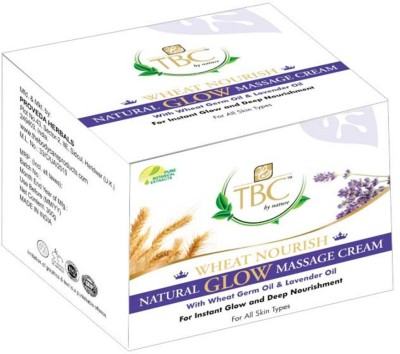 TBC By Nature Moisturizers and Creams TBC By Nature Wheat Nourish Natural Glow Massage