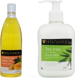 Soulflower Moisturizers and Creams Soulflower Tea Tree Body Milk with Offer