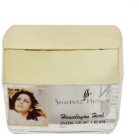 Shahnaz Hussain Himalaya Herb Snow Night Cream (40 G)