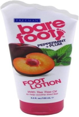 Freeman Moisturizers and Creams Freeman Bare Foot Peppermint + Plum Foot Lotion With Ayur Soap