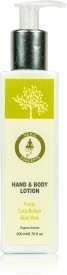 Vedic Concepts Hand & Body Lotion - Fruits Cocoa Butter Aloe Vera