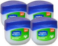 Vaseline BlueSeal Petroleum Light Hydrating Jelly (100ml) With Aloe Fresh (Pack Of 4) (102 Ml)