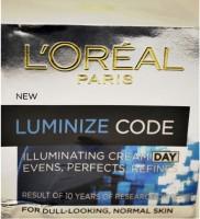 Loreal Luminize Code Illuminating Day Cream (50 Ml)