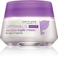 ORIFLAME SWEDEN Optimals White Skin Youth Night Cream (50 Ml)