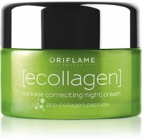 Oriflame Sweden Ecollagen Wrinkle Correcting Night Cream (50 Ml)