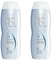 Avon Soft & White Intensive Whitening Hand & Body Lotion (250 Ml Each) Set Of 2 (500 Ml)