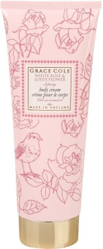 Grace Cole Moisturizers and Creams Grace Cole White Rose and Lotus Flower Softening Body Cream