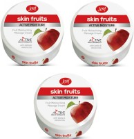 Joy Skin Fruits Active Moisture Massage Cream 100 Ml(Pack Of 3) (300 Ml)