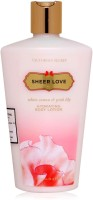 Victoria's Secret Sheer Love White Cotton & Pink Lily Hydrating Body Lotion (250 Ml)