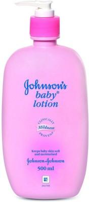 JOHNSONS BABY PINK LOTION 500ML (500 Ml)