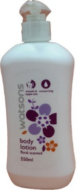 Watsons Moisturizers and Creams Watsons Frloral Scented