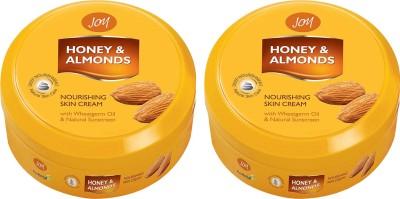 Joy Honey & Almonds Nourishing Skin Cream 800 Ml(Pack Of 2) (1600 Ml)