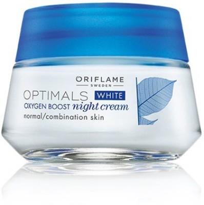 Oriflame Optimals White Oxygen Boost Night Cream (50 Ml)