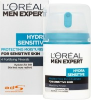 Loreal Paris Men Expert Hydra Sensitive Moisturising Cream (50 Ml)