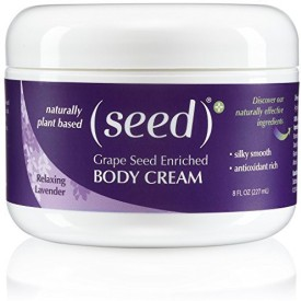 Seed 100% Natural Grape Enriched Body Cream Relaxing Lavender