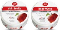 Joy Skin Fruits Active Moisture Massage Cream 200 Ml(Pack Of 2) (400 Ml)