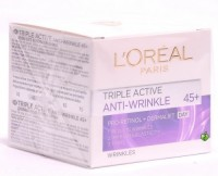 L'oreal Triple Active 45+Pro Retinol + Dermalift Anti- Wrinkle Cream (50 Ml)