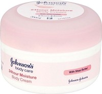 Johnsons Body Care 24 Hour Moisture Body Cream With Shea Butter (Made In France)- 200ml (200 Ml)