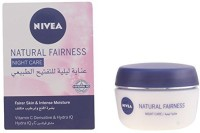 Nivea Natural Fairness Night Cream, Vitamin C, Hydra IQ, Intense Moisturized (50 Ml)