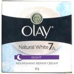Olay Moisturizers and Creams Olay Natural White Night Cream
