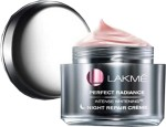 Lakme Moisturizers and Creams Lakme Perfect Radiance Night Creme for Daily Salon Boost