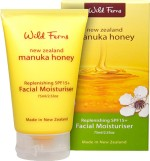 Wild Ferns Moisturizers and Creams Wild Ferns Manuka Honey Replenishing SPF 15+ Facial Moisturiser