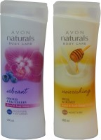 Avon Naturals Body Care Vibrant & Nourishing Hand & Body Lotion (Set Of 2 ) (400 Ml)