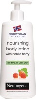 NEUTROGENA NORWEGIAN FORMULA NOURISHING BODY LOTION WITH NORDIC BERRY (250 Ml)