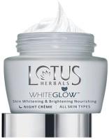 Lotus Herbals Whiteglow Skin Whitening & Brightening Nourishing Night Creme(120 G) (120 G)