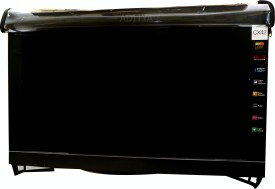 ADITYA Television accessories for 56 inch LED TV - TRANSPARENT COVER WITH DUAL ZIPPER AND FREE REMOTE COVER