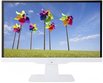 ViewSonic 21.5 inch LED Backlit LCD - VX2263Smhl-w  Monitor (White)