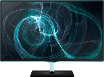 Samsung 23.6 inch LS24D390HL/XL LED Backlit LCD Monitor Black High Glossy ToC available at Flipkart for Rs.14499