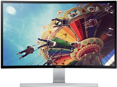 Samsung 27 inch LED Backlit LCD - LS27D590CS/XL  Monitor (Black and Silver)